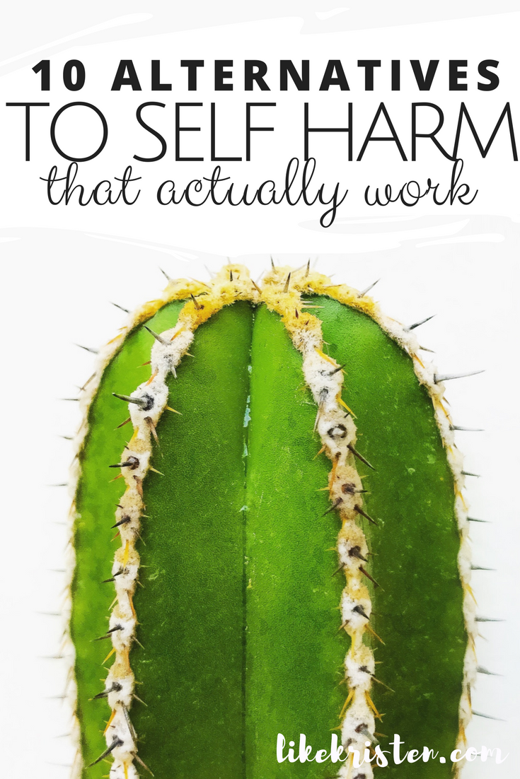 alternatives to self harm pdf